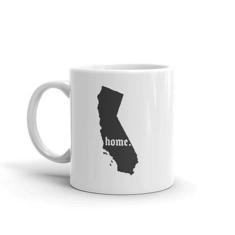 California Is My Home Coffee Mug