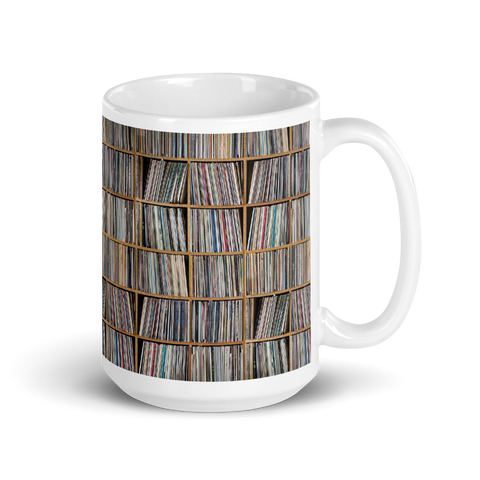 The Record Collector Coffee Mug