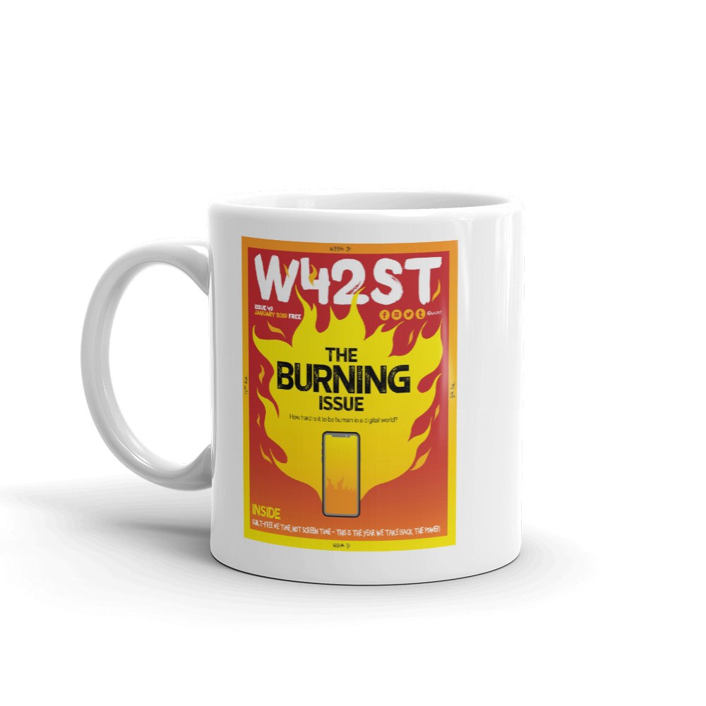 W42ST Magazine Cover Art Issue 49 Coffee Mug