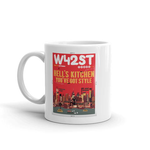 W42ST Magazine Cover Art Issue 9 Coffee Mug