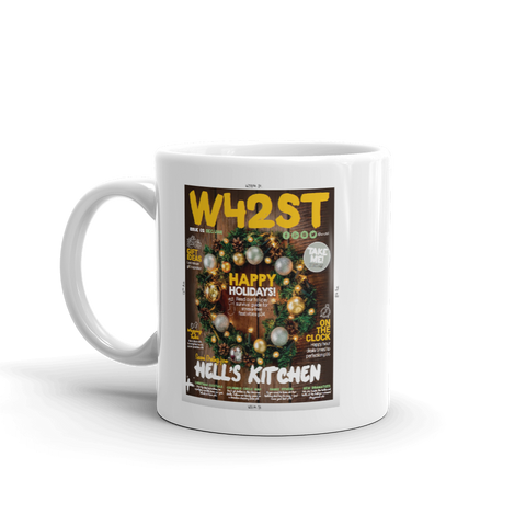 W42ST Magazine Cover Art Issue 2 Coffee Mug