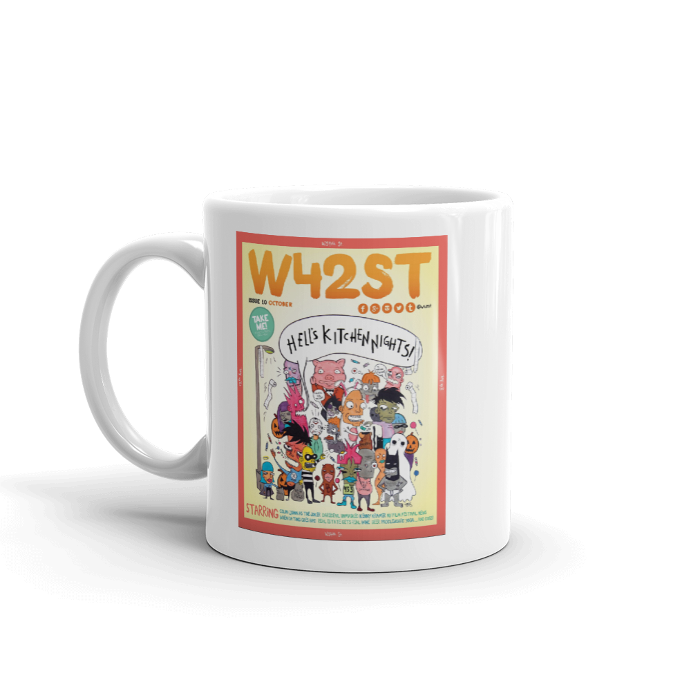 W42ST Magazine Cover Art Issue 10 Coffee Mug
