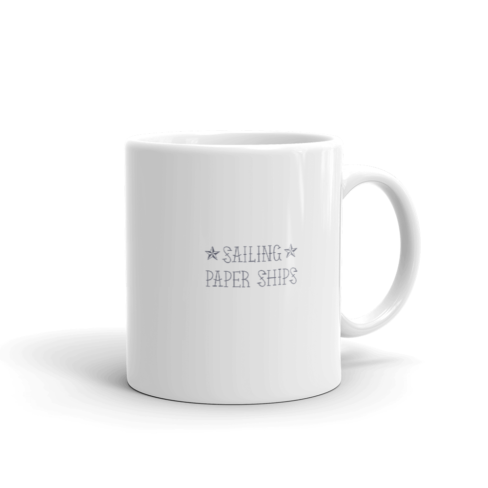 Sailing Paper Ships Coffee Mug