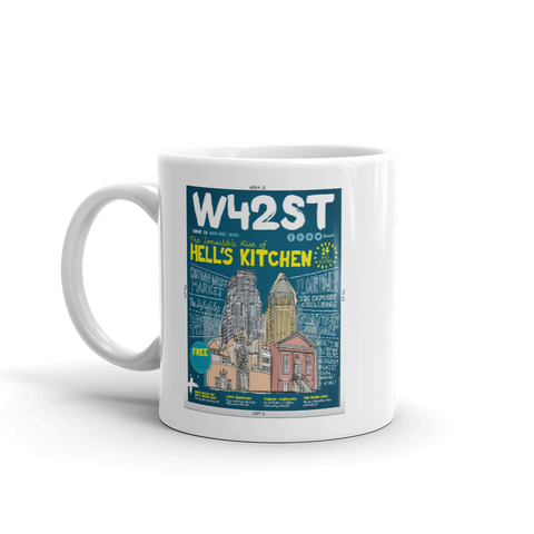 W42ST Magazine Cover Art Issue 1 Coffee Mug