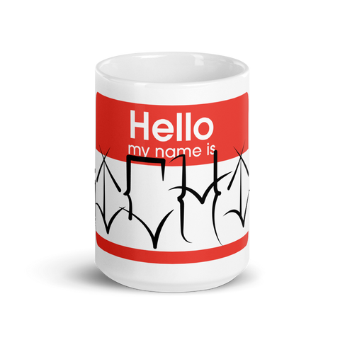 Luis Martinez Custom Name Coffee Mug