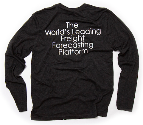 Freight Forecasting Platform T-Shirt - Long Sleeve
