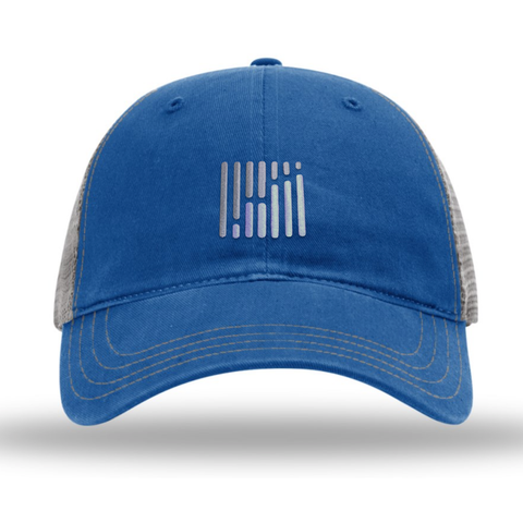 FreightWaves Imperial Hat - Royal Blue/Gray
