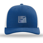 FreightWaves Hat - Gray/Royal Blue
