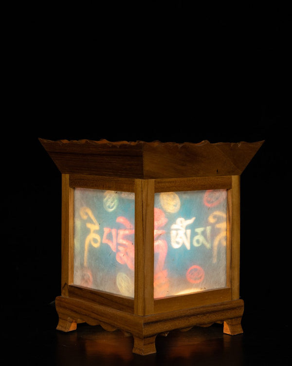 Prayer Wheel Night Lamp