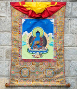 Medicine Buddha Applique Thangka