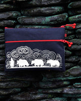 Man with Yaks iPad Case- Black