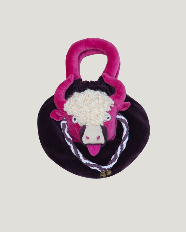 Kids Yak Purse, Purple/Pink