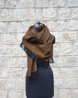 Wool Scarf - Olive Green