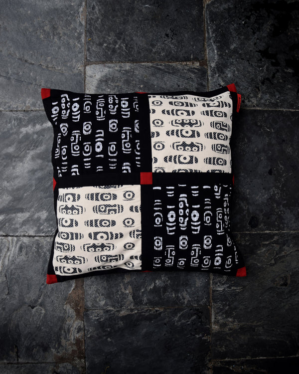 Dzi Paneled Cushion Cover Set