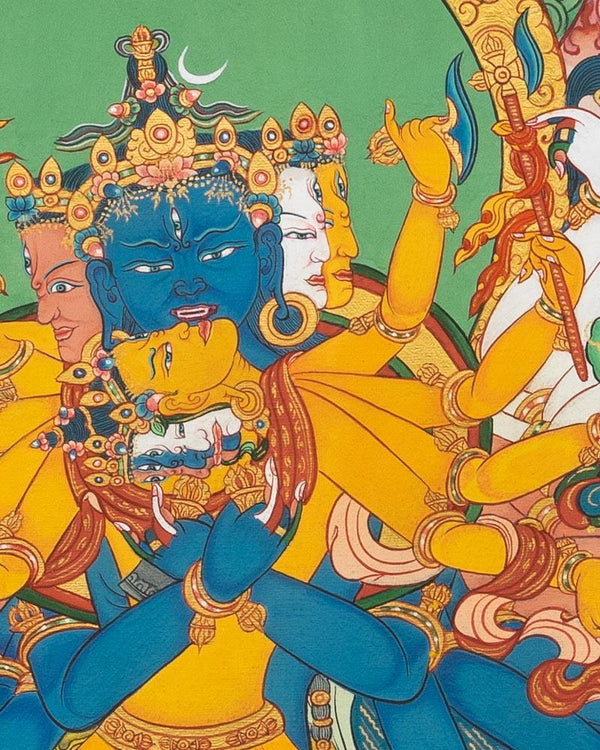 Kalachakra Painted Thangka