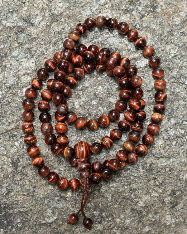 Brown Tiger Eye Mala
