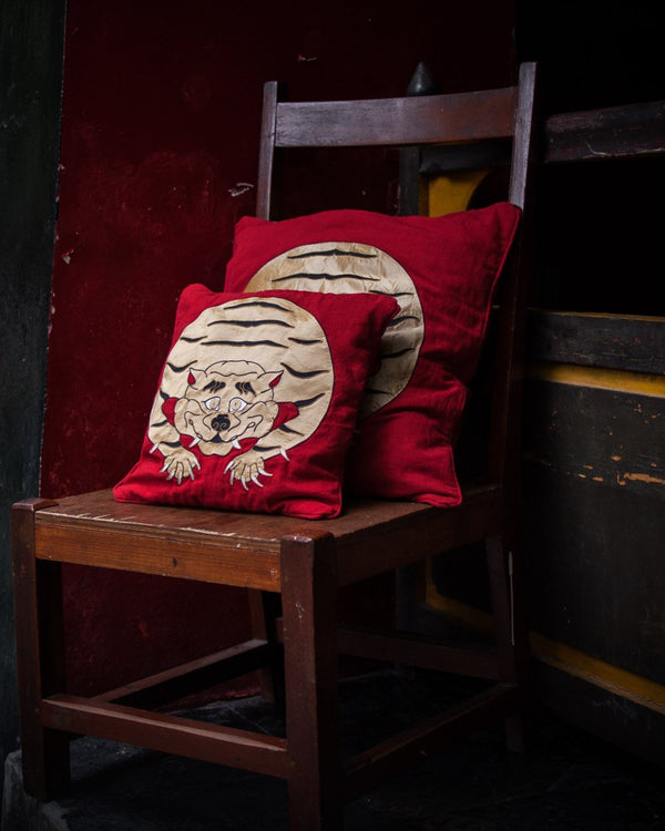Tantalizing Tiger Cushion Cover