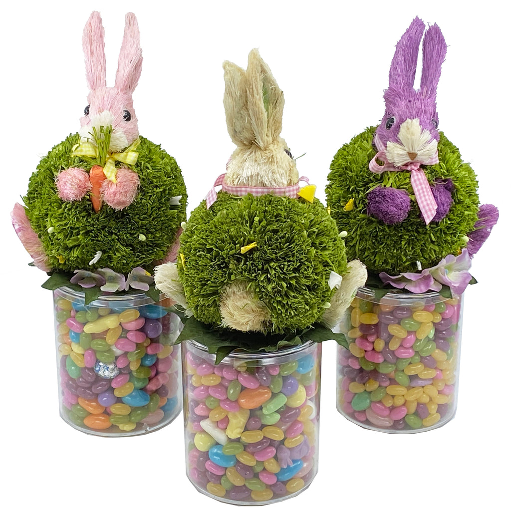 Easter Candy Bunny Jar