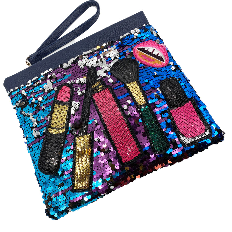 Sequin Cosmetic Bag