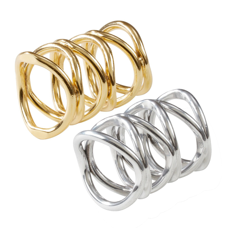 Gia Napkin Rings Set/2