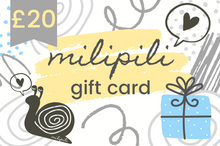 Load image into Gallery viewer, milipili gift card
