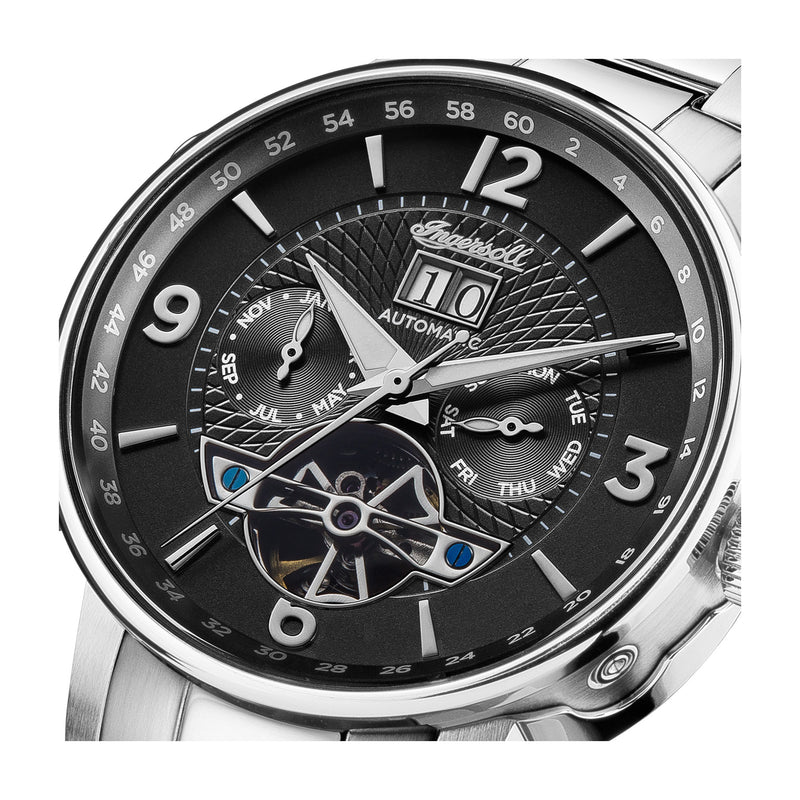 Ingersoll The Grafton 42 mm - I00704 - Herrenuhr Automatik