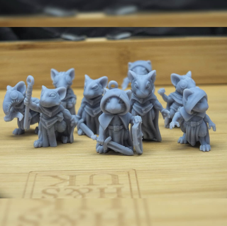 Tiny Mice printed with the Sonic Mini