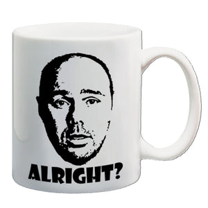 Karl Pilkington | Alright? | Mug