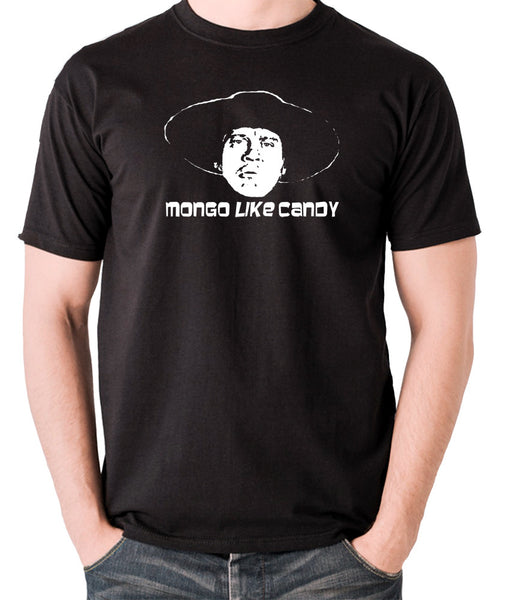 Blazing Saddles - Mongo Like Candy - Men's T Shirt - black