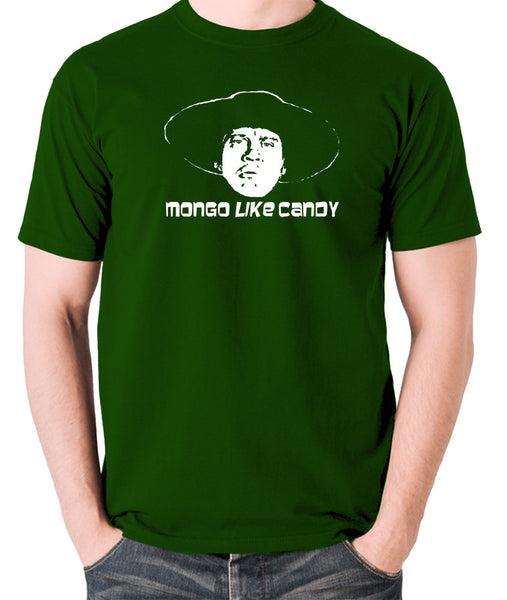 Blazing Saddles - Mongo Like Candy - Men's T Shirt - green