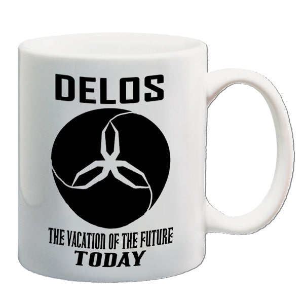 Westworld | Delos The Vacation Of The Future Today | Mug