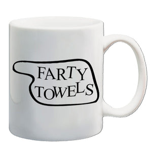 Fawlty Towers - Farty Towels - Mug