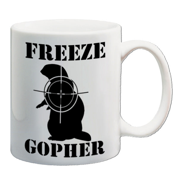 Caddyshack - Freeze Gopher - Mug