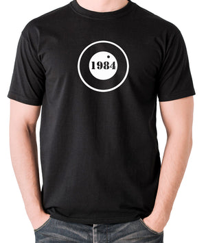 1984 - George Orwell - Men's T Shirt - black