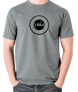 1984 - George Orwell - Men's T Shirt - grey