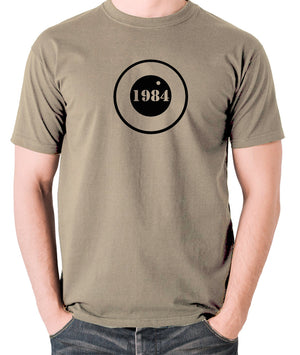 1984 - George Orwell - Men's T Shirt - khaki