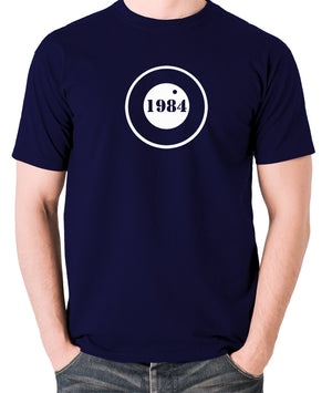 1984 - George Orwell - Men's T Shirt - navy