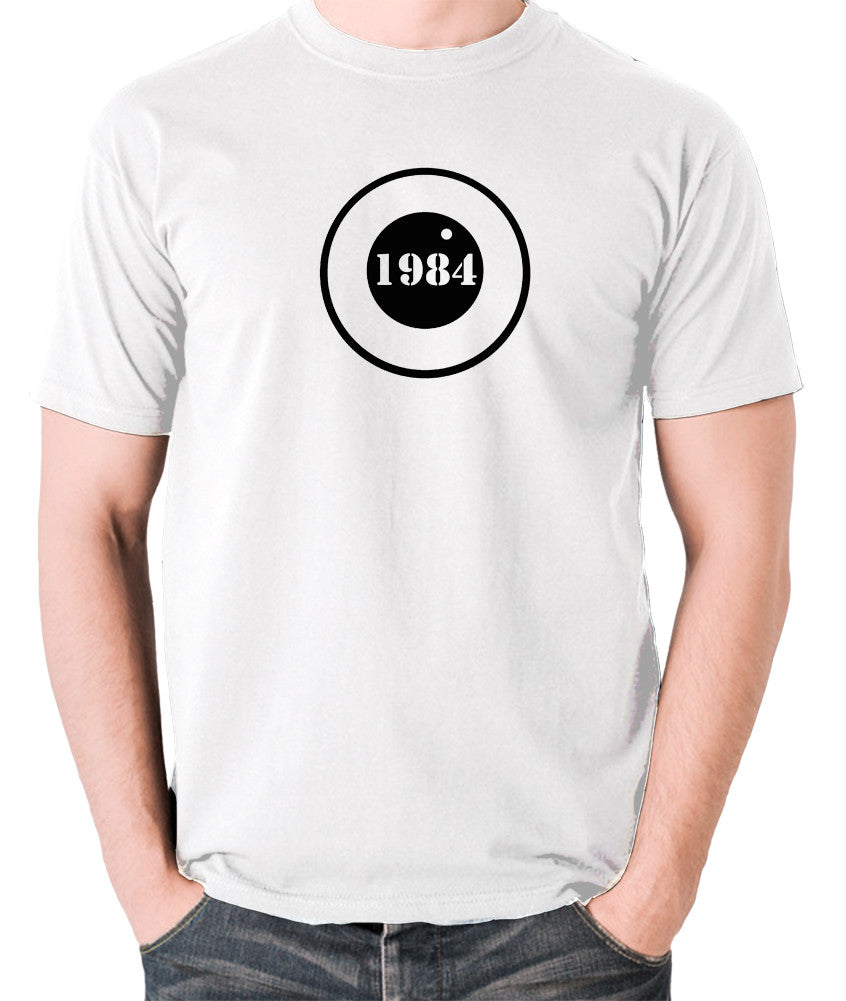 1984 - George Orwell - Men's T Shirt - white