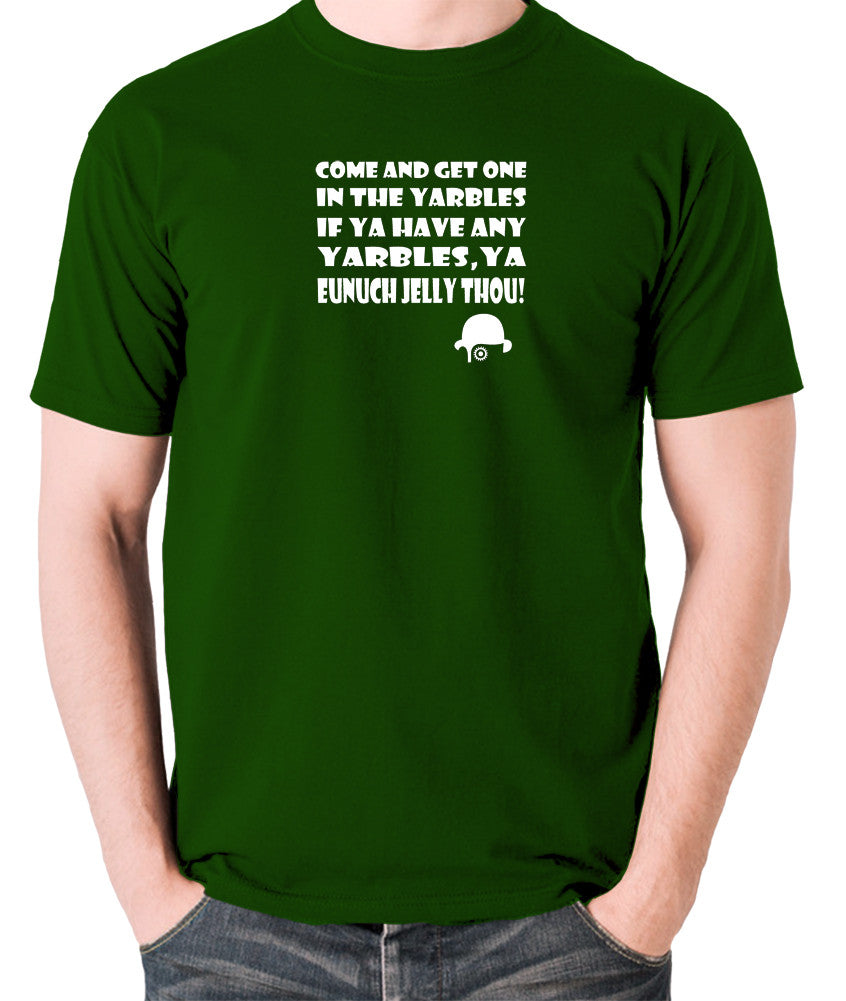 A Clockwork Orange - Come and Get One In The Yarbles - Men's T Shirt - green