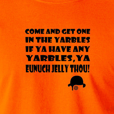 A Clockwork Orange - Come and Get One In The Yarbles - Men's T Shirt