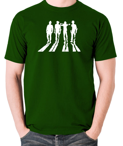 A Clockwork Orange - Droogs Silhouette - Men's T Shirt - green