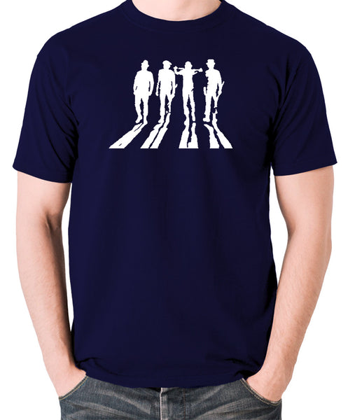 A Clockwork Orange - Droogs Silhouette - Men's T Shirt - navy