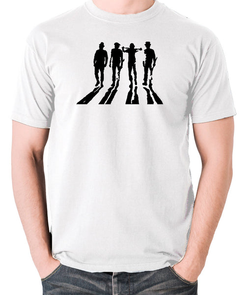 A Clockwork Orange - Droogs Silhouette - Men's T Shirt - white