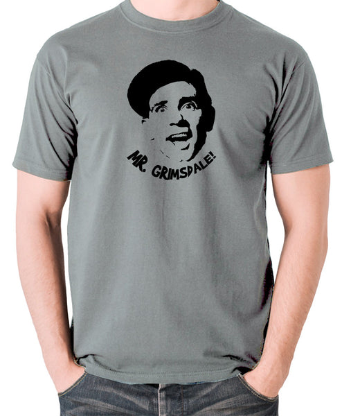 A Stitch in Time - Norman Wisdom, Mr. Grimsdale - Men's T Shirt - grey