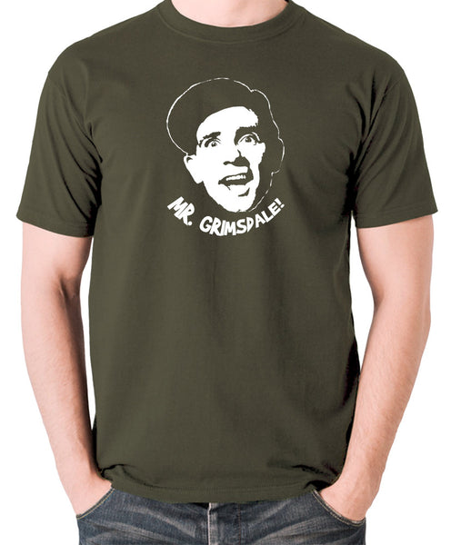 A Stitch in Time - Norman Wisdom, Mr. Grimsdale - Men's T Shirt - olive