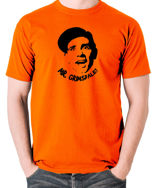 A Stitch in Time - Norman Wisdom, Mr. Grimsdale - Men's T Shirt - orange