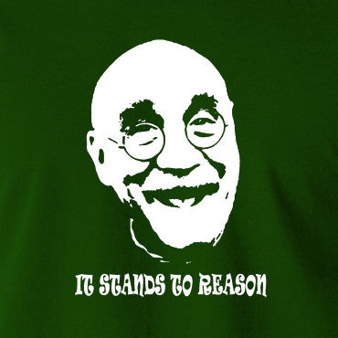 Alf Garnett It Stands To Reason T Shirt