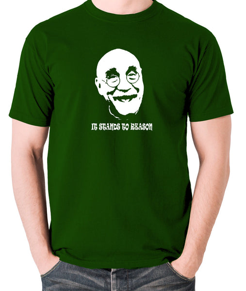 Alf Garnett It Stands To Reason T Shirt green