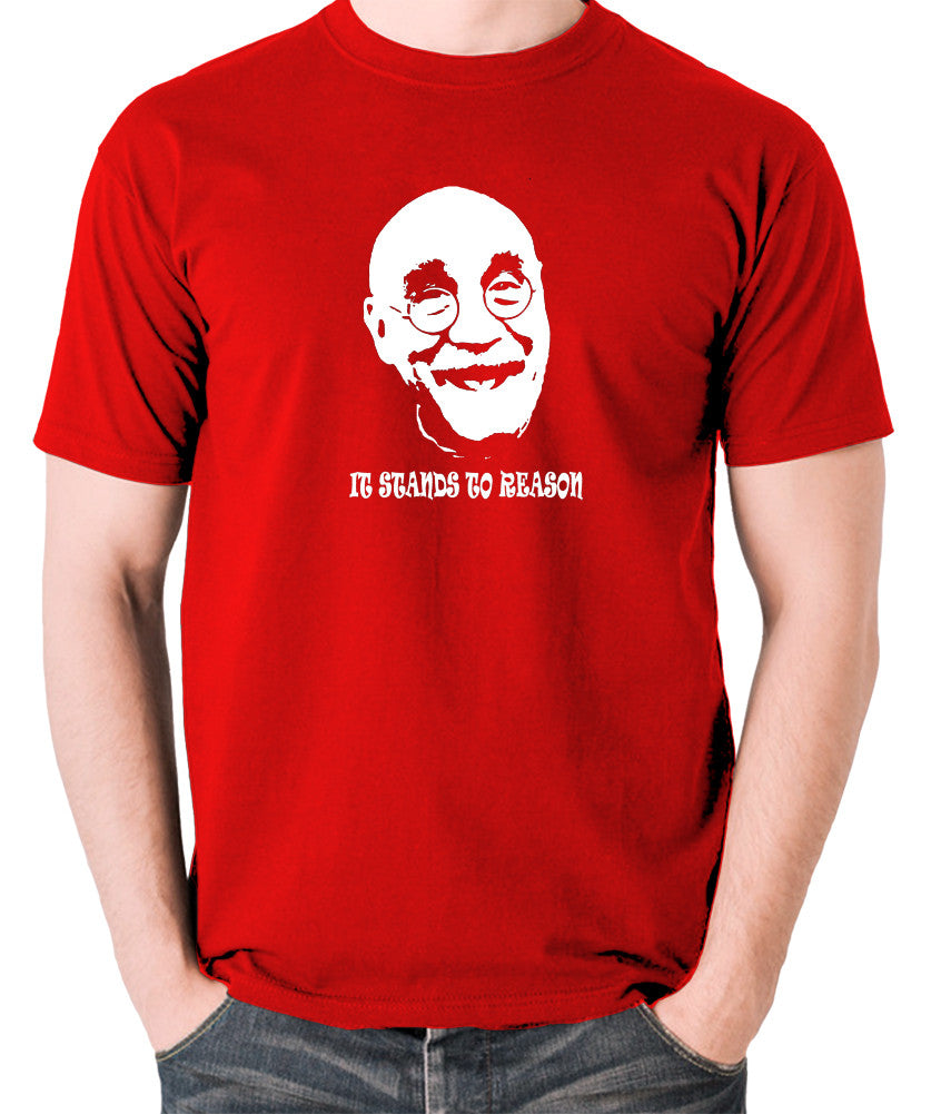 Alf Garnett It Stands To Reason T Shirt red