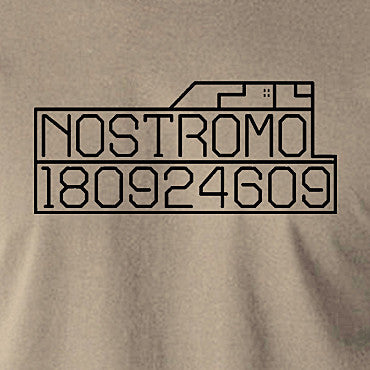 Alien - Nostromo Start-up Screen - Men's T Shirt